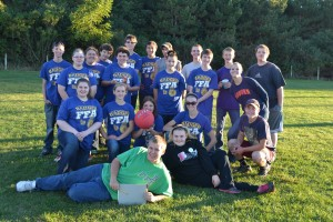 FFA Members unite in a kickball tournament